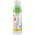 Бутылочка Happy Baby Baby антиколиковая с силиконовой соской 250мл 10015 Grass