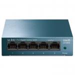 Коммутатор, TP-Link, LS105G, 5-портовый 10/100/1000 Мбит/с с автосогласованием,авто-MDI/MDIX, Настольный
