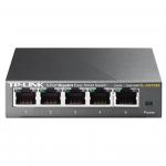 Коммутатор, TP-LINK, TL-SG105E, Easy Smart, 5 гигабитных портов