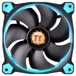 Кулер для кейса Thermaltake Riing 12 LED Blue, Чёрный
