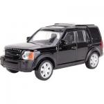 Металлическая машинка, RASTAR, 36700B, 1:43, Land Rover Discovery 3, 11 см, Чёрная