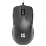 Мышь проводная Defender Optimum MB-160, черный