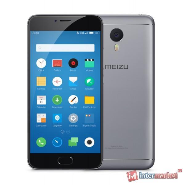Смартфон Meizu M3 Note, 32Gb, Gray-Black