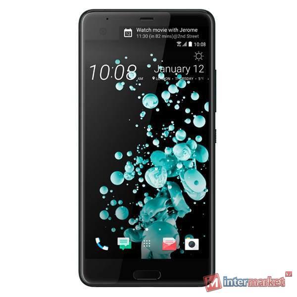 Смартфон HTC U Ultra Sapphire 128GB Brilliant Black