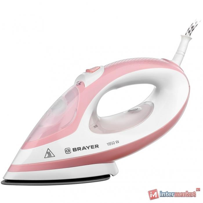 Утюг BRAYER BR4080 розовый